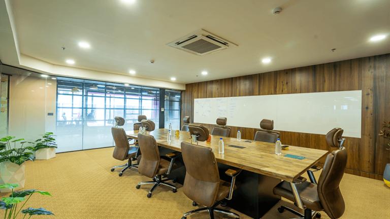 Meeting room at DevX Coworking Space in Andheri East